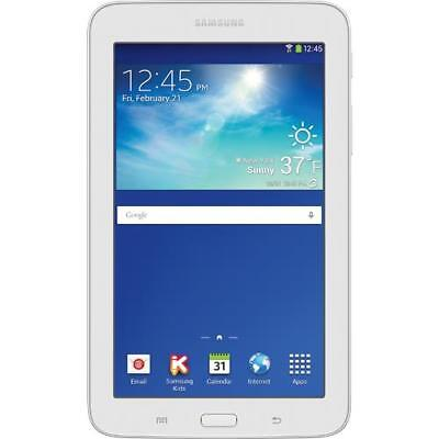 "Samsung SM-T113NDWAXAR 7"" Galaxy Tab E Lite 8GB Tablet"