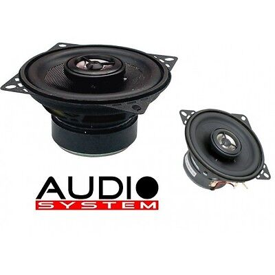 Audio System MXc 100 100 mm Coaxialsystem MXC100 2-Wege Koax Lautsprcher 1 Paar