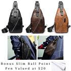 Crossbody Bag Soft Small Bags for Men