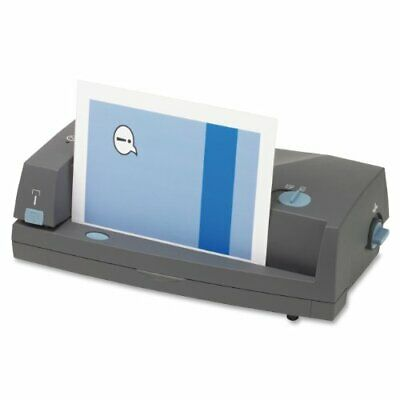 Gbc 3230st Three-hole Punch And Stapler - 3 Punch Heads - 24 Sheet Capacity -