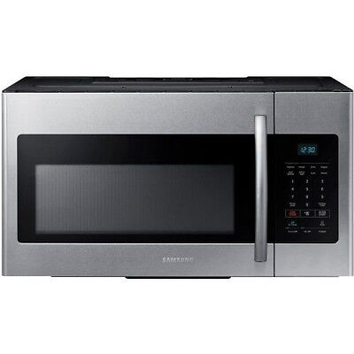 Samsung ME16H702SES 1.6CF Over-the-Range Microwave Stainless steel
