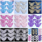 Butterfly Embroidered Sewing Trims