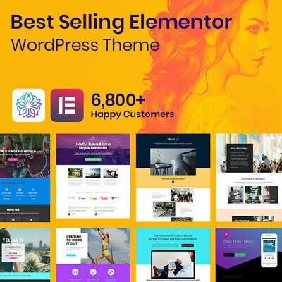 Phlox Pro - Best Elementor Wordpress Themes Pro Plugins Included - Free Update
