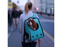 Pet Backpack BRAND NEW BLUE