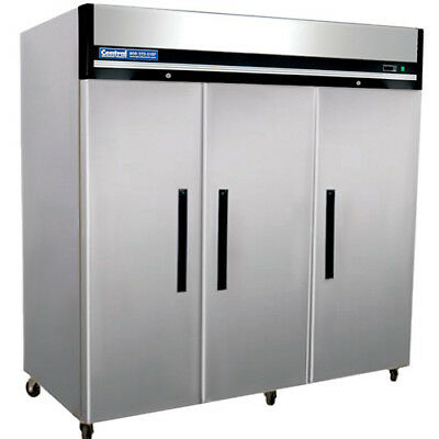 Reach-in Commercial Refrigerator - 3 Doors