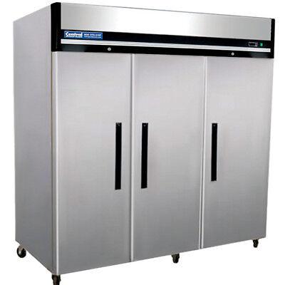 Reach-in Commercial Refrigerator - 3 Doors