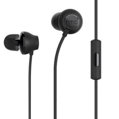 Genuine HTC USonic Black Hi-Res Audio Headset 3.5MM Headphones PHF For HTC 10