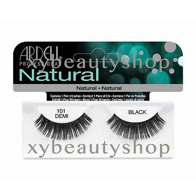 40 Pairs Ardell Natural 101 Demi Fashion Lash Fake Eyelashes Black