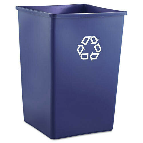 Rubbermaid 35 Gal. Recycling Container (Blue) 395873BLU New