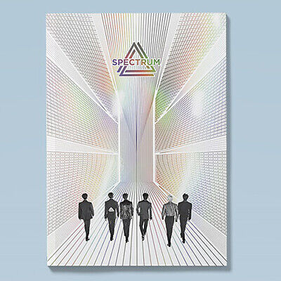 SPECTRUM 0325 4th Single Album CD+POSTER+Photo Book+2Card+Post Card+Photo SEALED