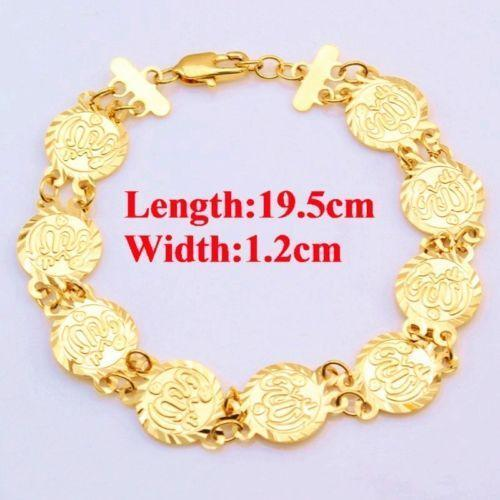 bracelet and bangle solid karma smooth bangles shiny gold heavy classic