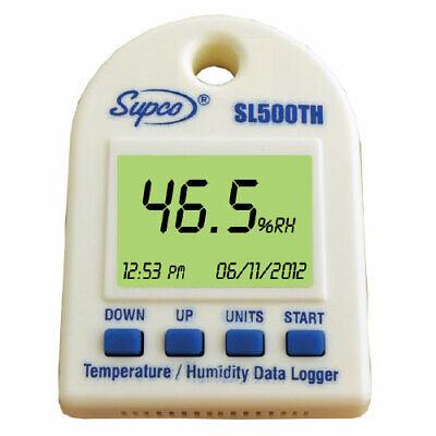 Supco Sl500th Temperature Humidity Data Logger W Internal Sensors Software