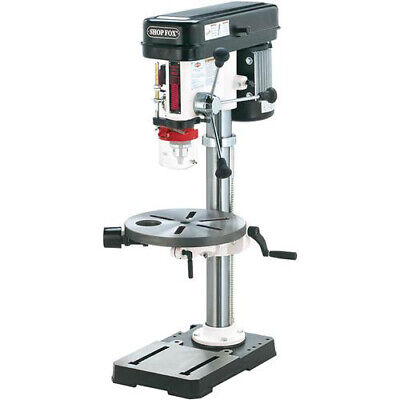Shop Fox W1668 34 Hp 13 Benchtop Drill Press W Built-in Dust Collection