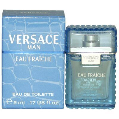 mini cologne Versace Man Eau Fraiche for Men Brand New In Box