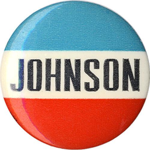 Scarce 1964 Lyndon JOHNSON Campaign Logo Button (3041)