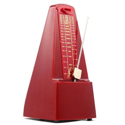 Elegante Pyramid Metronom Tempo für Musiker Klavier Gitarre Wind- Up Clockwork