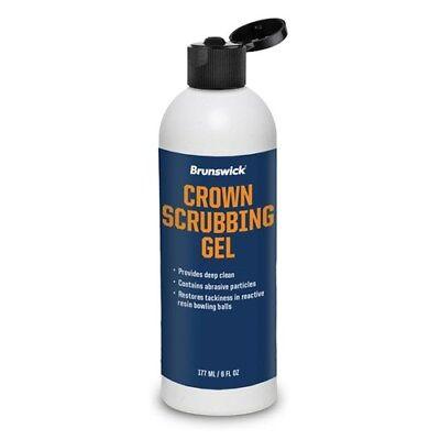 Brunswick Crown Factory Bowling Ball Scrubbing Gel 6 Oz Bottle