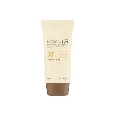 [THE FACE SHOP] Natural Sun Eco Super Perfect Sun Cream 80ml / Korean (The Face Shop Super Perfect Sun Cream)