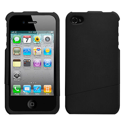 Black Slash Phone case(Rubberized) for APPLE iPhone 4s/4
