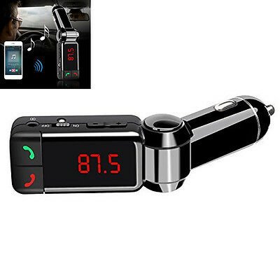 Blue-tooth Car Charger Mp3 Player For Vehicle Professional MP3 WMA Format Music Blue Fox Bluetooth