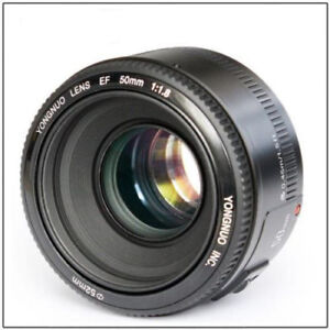 Yongnuo YN50mm F/1.8 / YN35mm F2.0 Lens for Canon