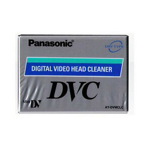 Panasonic DVC Mini DV Digital Video Head Cleaner Tape