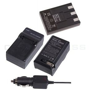 NB-3L Battery + Charger for Canon Powershot SD500 SD550
