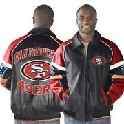 49ers Leather Jacket
