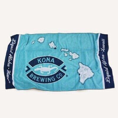 NEW Kona Brewing Co Luxury Beach Towel Hawaii