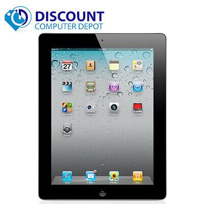 """Apple iPad 2 9.7"""" Tablet 16GB Wi-Fi Touchscreen - Black (MC769LL/A)"""
