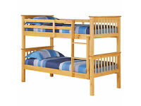DURABLE SOLID WOODEN PINE BUNK BED For Sale On Discounted Prices/ Bed for Children/Kids Bed