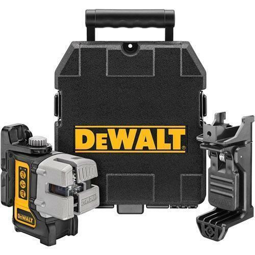 DeWALT DW089K Self Leveling 3 Beam Line Laser 50