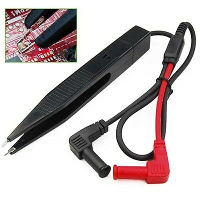 SMD Testing Tweezers Probe Leads For Multimeter Tester - By TRIXES