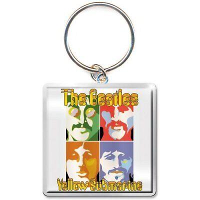 Beatles Apple Keyring Keychain    Yellow Submarine   Sea Of Science