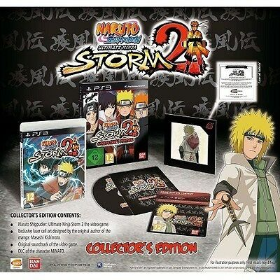 Naruto Shippuden: Ultimate Ninja Storm 2 Collector's Edition [PlayStation 3 PS3] comprar usado  Enviando para Brazil