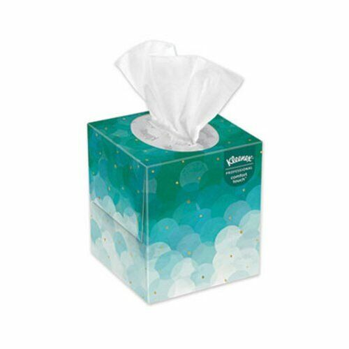 Kleenex White Facial Tissue, 2-Ply, Pop-Up Box, 36 Boxes (KCC21271CT)