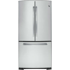 GE Bottom Mount French Door Stainless Steel Fridge