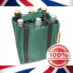 High Quality 6 bottle - Wine bottle carrier bag - Free P&P