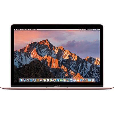 "Apple 12"" MacBook (Mid 2017, Rose Gold) MNYM2LL/A"