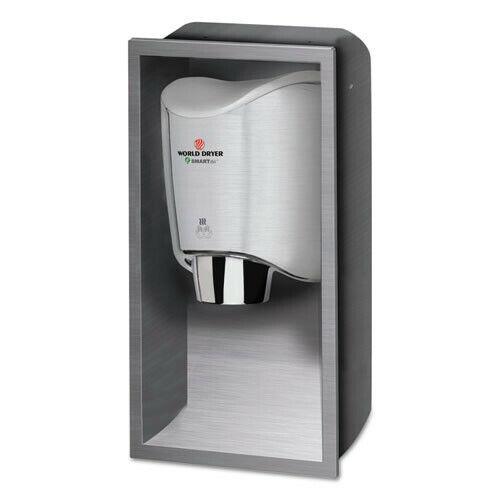 WORLD DRYER KKR973 SMARTdri 15 x 4 x 25 Hand Dryer Recess Kit - Stainless New