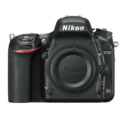 Nikon D750 Digital SLR Camera Body 24.3MP FX-format Brand Ne