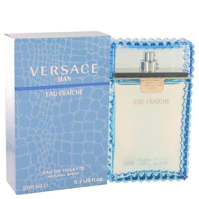 Versace Man Cologne Blue for Men EDT Spray 6.7 oz 3.4 oz 1.7 oz 0.17 oz NIB Xmas