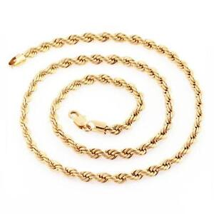 jewelry of wrest chain gold p mens plated yellow twisted picture necklace rope