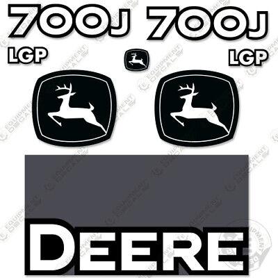 Deere 700j Lgp Dozer Decal Kit Equipment Decals