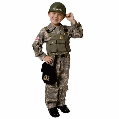 Special Forces Navy Seal Child Costume - With Helmet! (Navy Seal Costume)