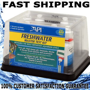 Api aquarium fish tank master freshwater test kit nitrate for Nitrite in fish tank