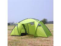 North Gear 6 Man Waterproof Tent Green - NEW - RRP 119