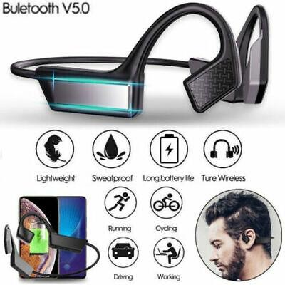 Bone Conduction Headset Bluetooth 5.0 Outdoor Sport Wireless Open ear Headphone