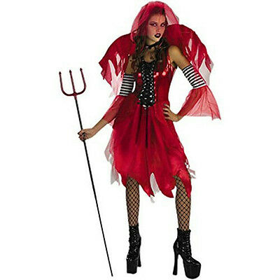 Women's Devil Fairy Halloween Costume Size 12-14 Adult (Halloween Costumes Devils)