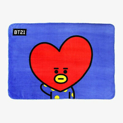 BT21 TATA flannel blanket - BTS Official Authentic Goods